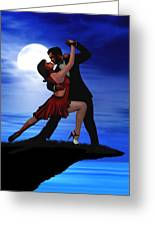 Dancing By Moonlight Greeting Card