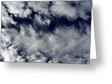 Dancing Clouds Greeting Card