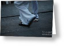Dancing Feet At The Dominican Republic Son Party Number Three Greeting Card