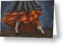 Dancing Feet Greeting Card