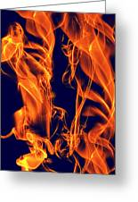 Dancing Fire I Greeting Card