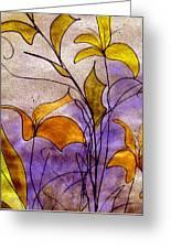 Dancing Flora Greeting Card
