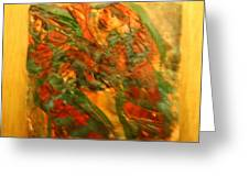 Dancing Gals - Tile Greeting Card