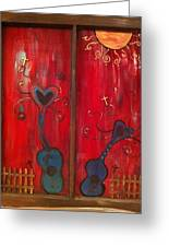 Dancing Hearts Greeting Card