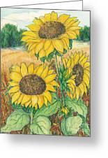 Dancing In The Sun 2  Greeting Card