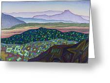 Dancing Light Of Northern New Mexico Greeting Card