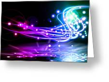 Dancing Lights Greeting Card