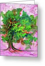 Dancing Oak Greeting Card