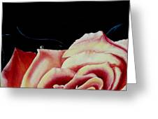 Dancing On Rose Petals Detail One Greeting Card