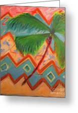 Dancing Palm Greeting Card