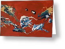 Dancing Spirits Greeting Card
