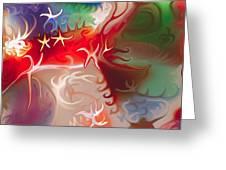 Dancing Stars Greeting Card