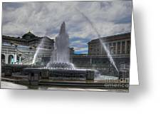 Dancing Waters Greeting Card