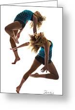 Dancing With Myself Greeting Card