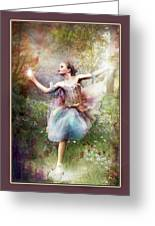 Dancing With The Light Greeting Card