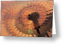Dandelion Illusion Greeting Card