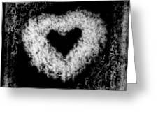 Dandelion Love Greeting Card by Tamyra Ayles