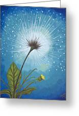 Dandy Dandelion Greeting Card