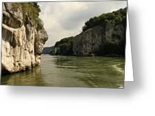 Danebu Gorge  Greeting Card