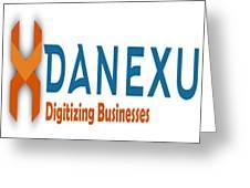 Danexu Technologies Logo Greeting Card