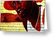 D'angelo-singer Greeting Card