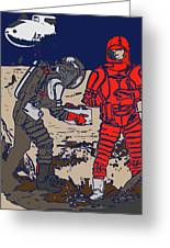 Danger In Deep Space Greeting Card