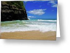Dangerous Yet Beautiful Kauai Greeting Card