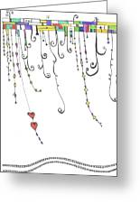 Dangles Greeting Card