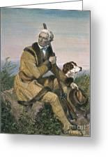 Daniel Boone (1734-1820) Greeting Card