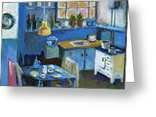 Danish Kitchen Greeting Card