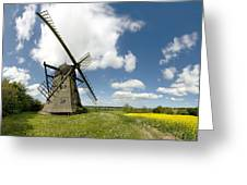 Danish Windmill Greeting Card