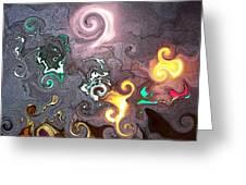 Dantes Inferno Greeting Card