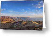Dante's View Greeting Card
