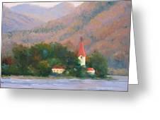 Danube Autumn Greeting Card