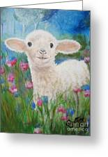 Flying Lamb Productions     Daphne Star In The Tall Grass Greeting Card