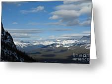 Dappled Slopes Greeting Card