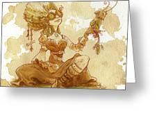 Darjeeling Greeting Card