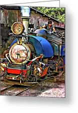 Darjeeling Toy Train Greeting Card