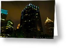 Dark Atlanta Greeting Card