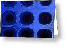Dark Blue A Greeting Card