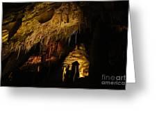 Dark Cave Greeting Card