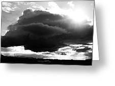 Dark Cloud Greeting Card