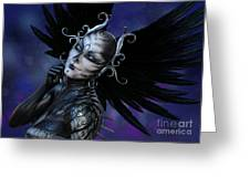 Dark Gaze Greeting Card