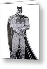 Dark Knight Greeting Card