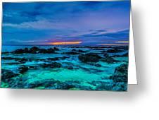 Night Glow Greeting Card