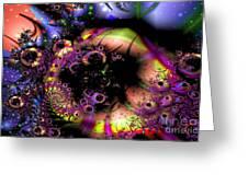 Dark Matter Revealed Greeting Card