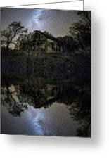 Dark Reflection Greeting Card