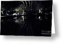 Dark Reflections Greeting Card