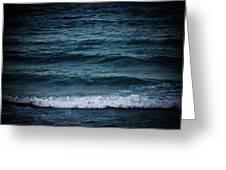 Dark Sea Greeting Card