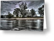Dark Skies Greeting Card